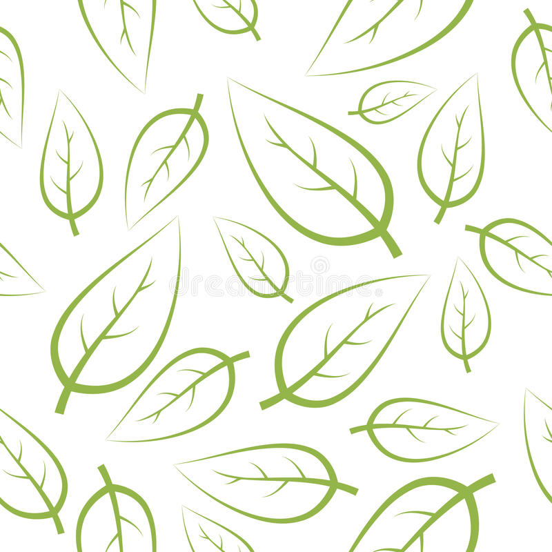 Download Fresh green leafs texture stock vector. Illustration of flower - 10756520