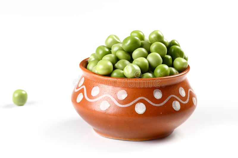 Fresh Green Pea stock image