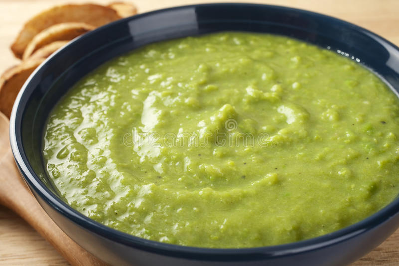 Download Fresh Green Pea Soup Stock Photography - Image: 25769012
