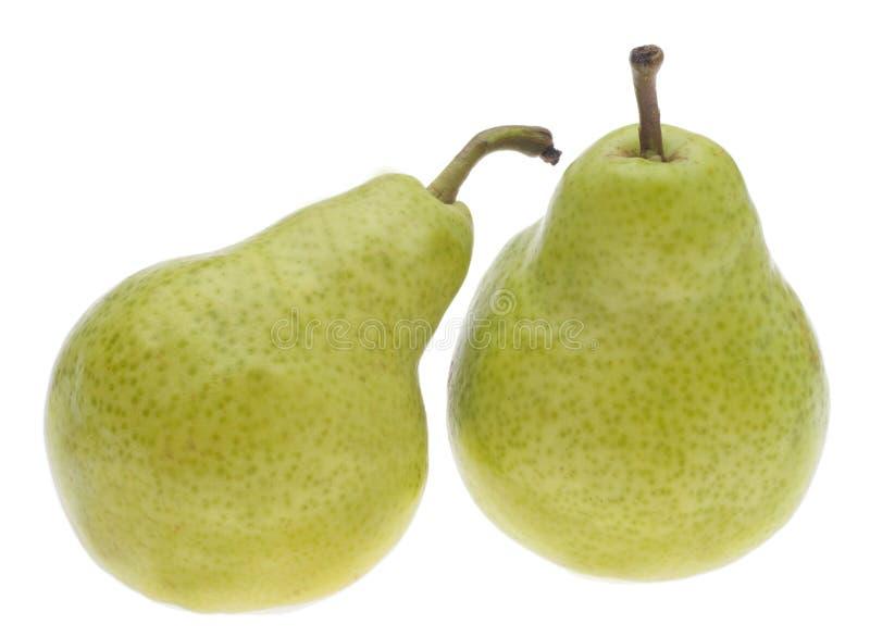 Fresh Green Pears stock image