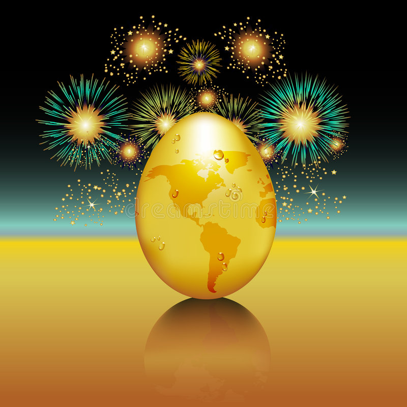 Free Fresh Hatch Fireworks Royalty Free Stock Image - 8631526