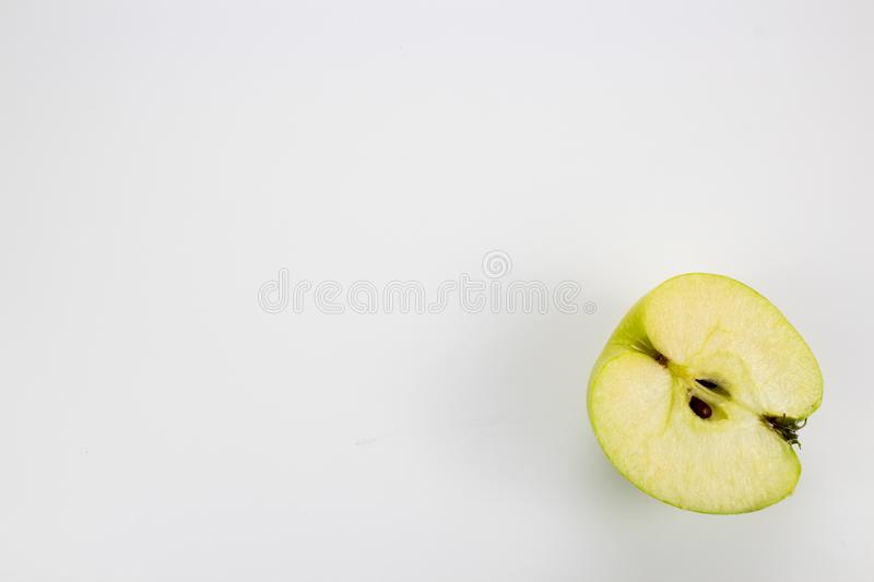 A fresh healthy apples on the table. Background, multiple uses is possible stock photography