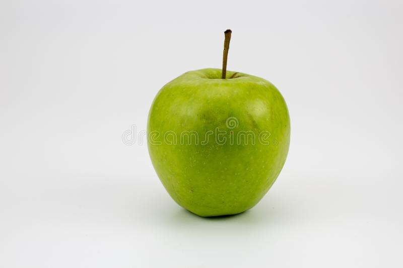 A fresh healthy apples on the table. Isolated background, multiple uses is possible royalty free stock photography