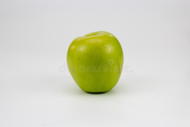 A fresh healthy apples on the table. Isolated background, multiple uses is possible royalty free stock photo