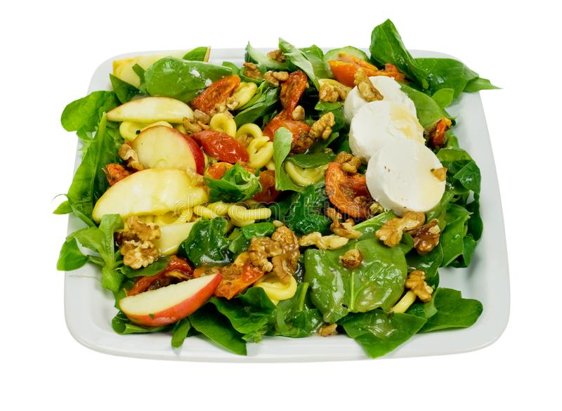 Fresh and healthy salad royalty free stock photography