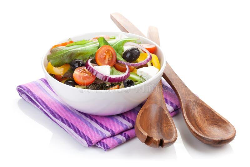 Fresh healty salad stock photos