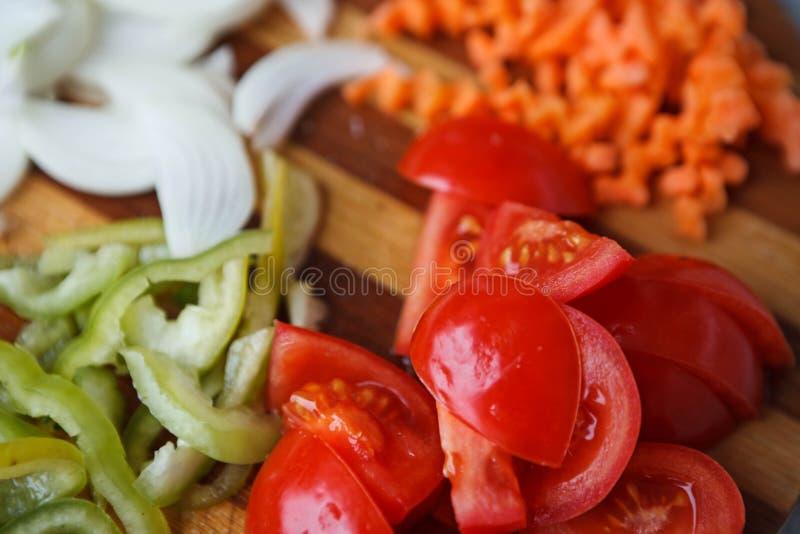 Fresh healty vegetable mixed salad stock photo