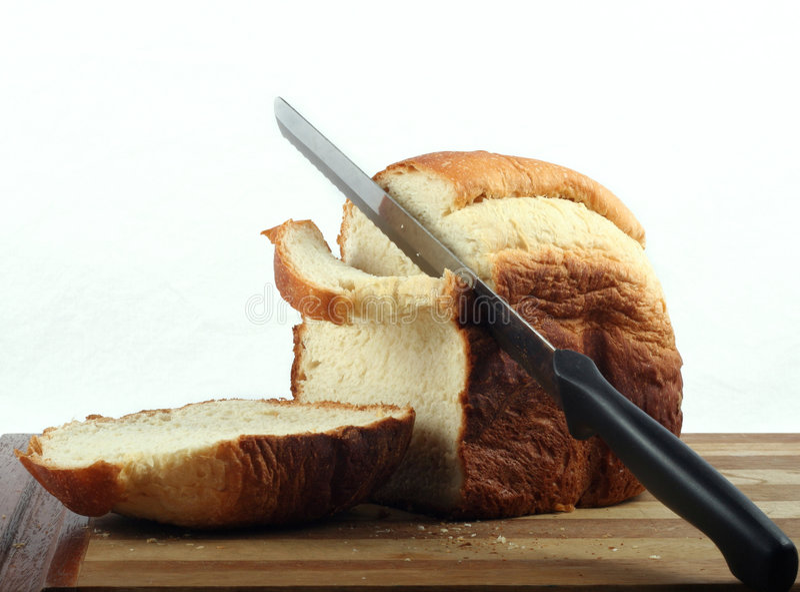 Fresh Home Made Bread Stock Photo
