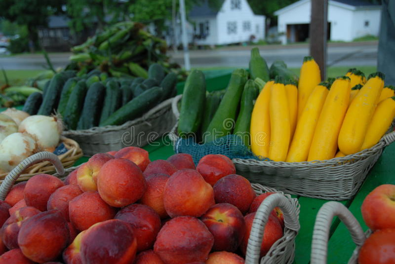 Fresh Homegrown Produce stock photography