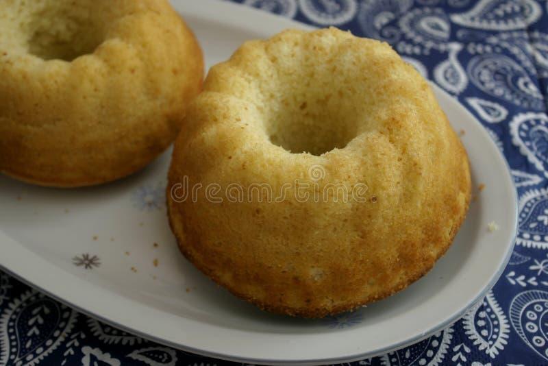 Homemade cake of wheat flour stock photos