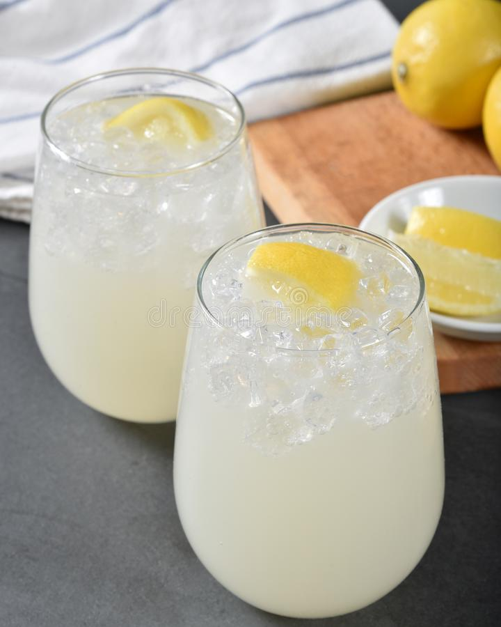 Fresh homemade lemonade royalty free stock photos