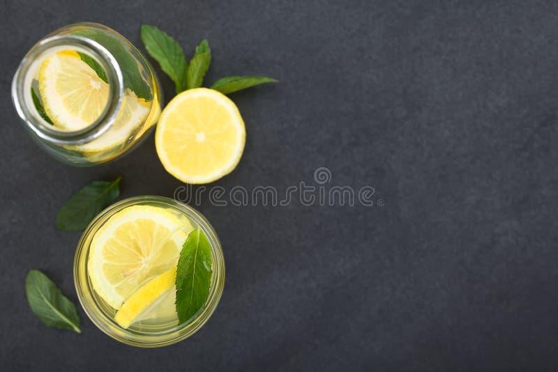 Fresh Homemade Lemonade royalty free stock images