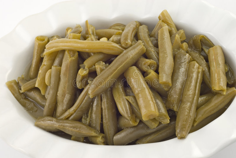 Fresh Homestyle Green Beans stock photography