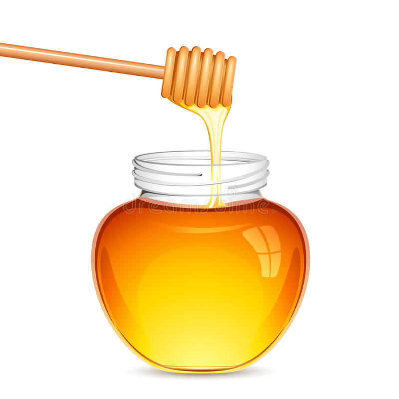 Download Fresh Honey Royalty Free Stock Photos - Image: 25578978