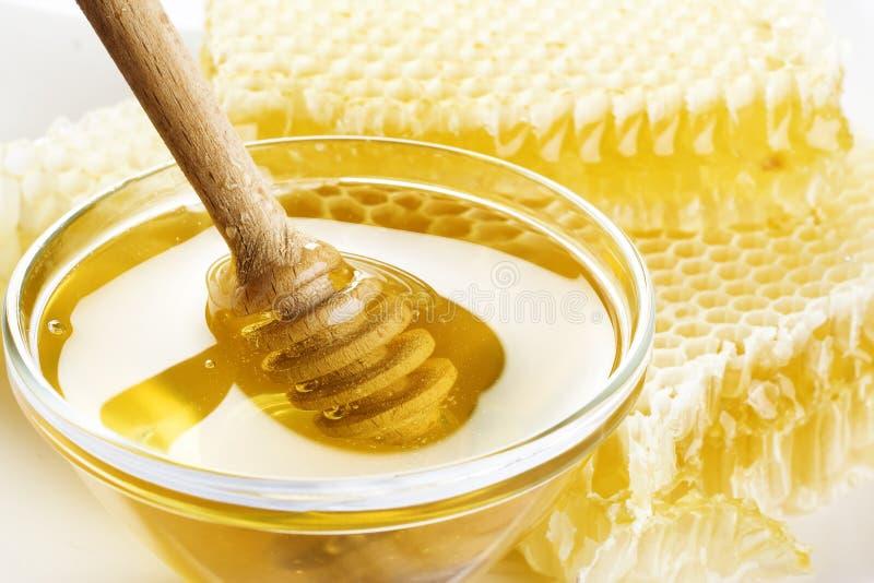 Fresh honey stock photography