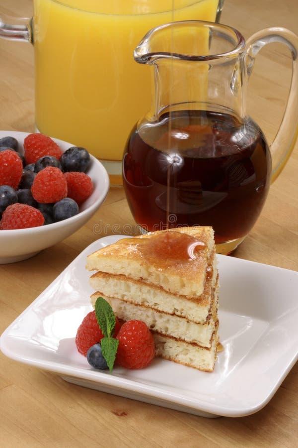 Fresh Hot  Pancakes Royalty Free Stock Photography