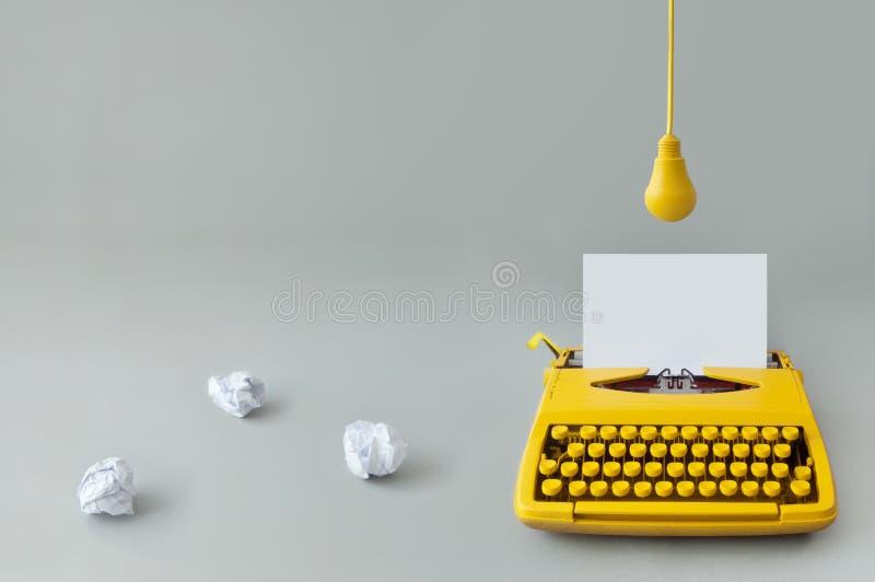 Fresh idea brainstorm stock photo
