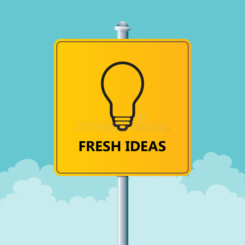 Fresh Ideas vector illustration