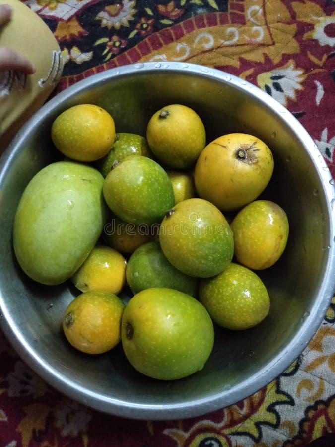 Fresh Indian Fruit its Called Mango stock photo