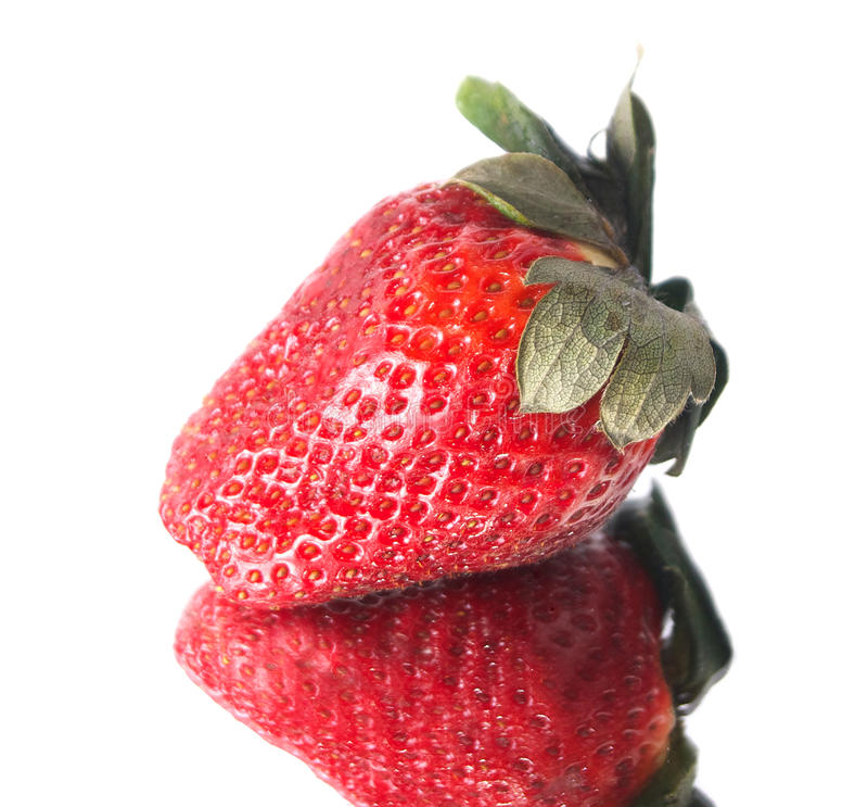 Fresh Isolated Strawberry stock images