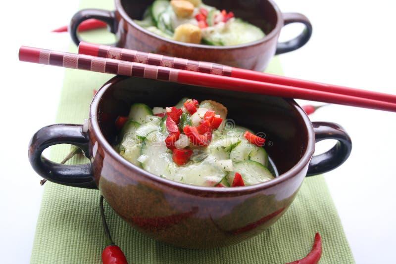 Fresh Japanese Salad Royalty Free Stock Photo