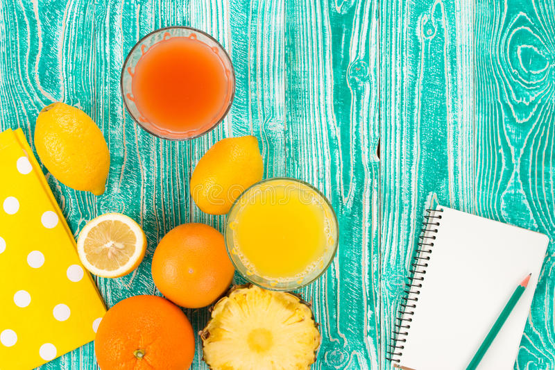 Fresh juice royalty free stock images