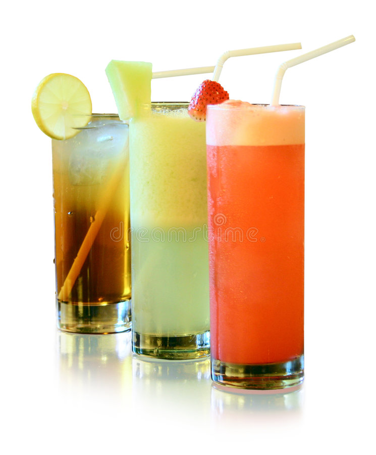 Free Fresh Juices Isolated Royalty Free Stock Images - 383249