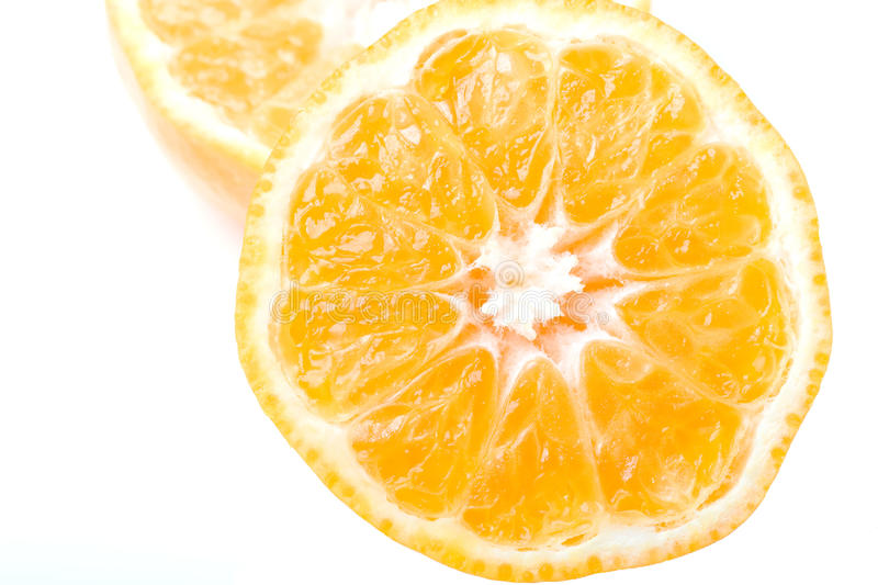 Fresh juicy delicious ripe clementine citrus fruit royalty free stock image