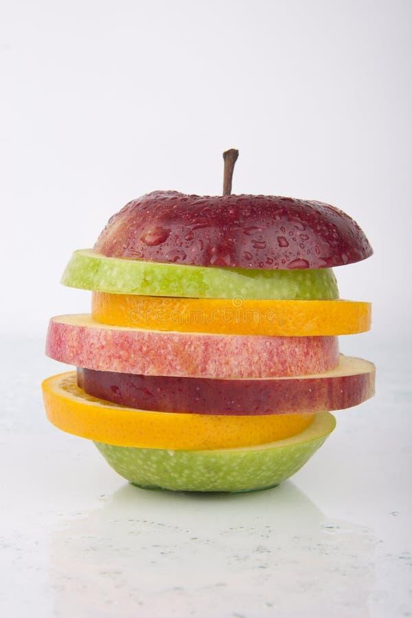 Fresh Juicy Mixed Fruit royalty free stock photo