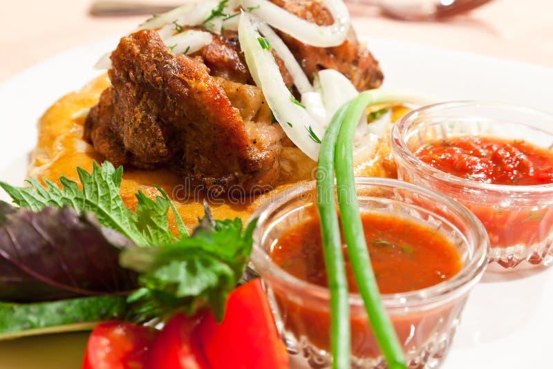 Download Fresh kebab stock image. Image of crockery, food, barbecue - 14850261