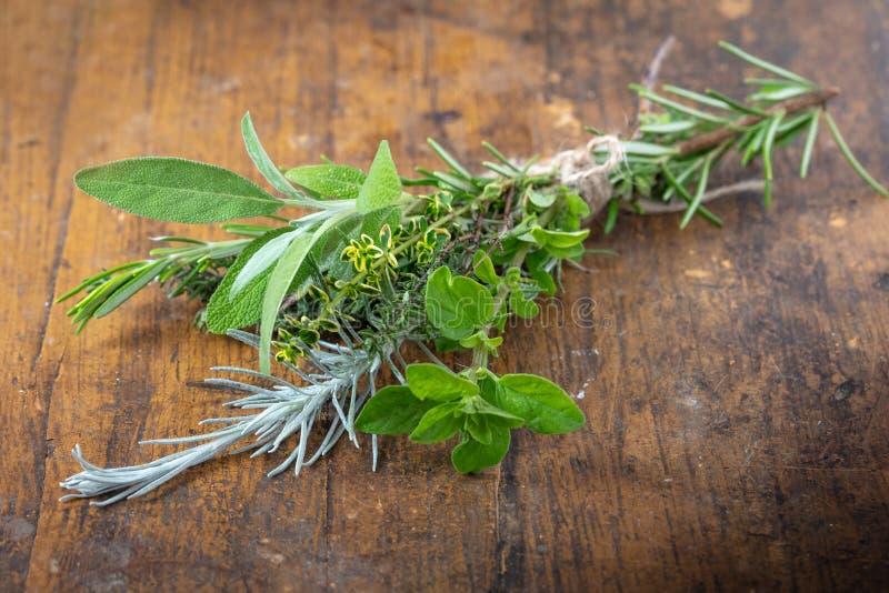 Fresh Kitchen Herbs royalty free stock photo