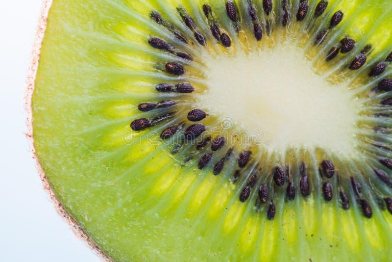 Fresh Kiwi fruit sliced for background royalty free stock photography