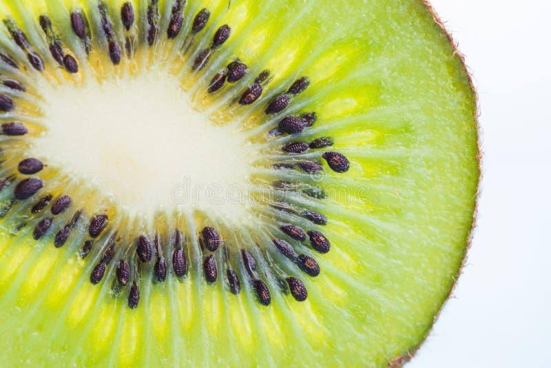 Fresh Kiwi fruit sliced for background royalty free stock image