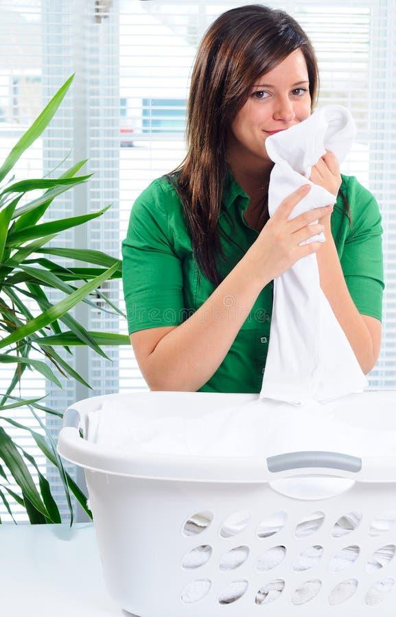 Fresh Laundry stock images