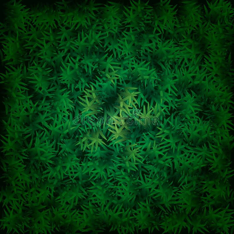 Fresh lawn grass texture. Perfect green grass carpet. Grass backdrop for your design. 10 eps royalty free illustration