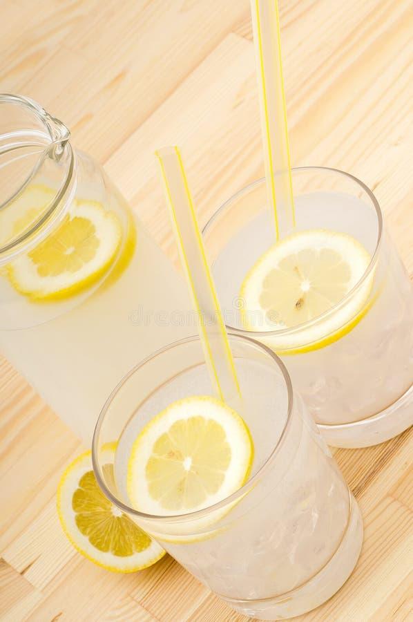Fresh lemonade drink royalty free stock image