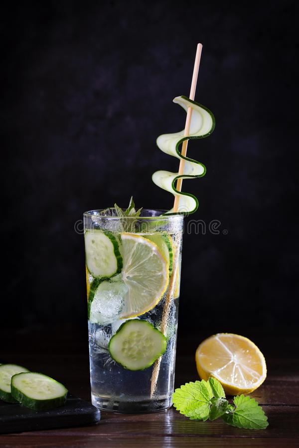 Image with lemonade. stock images