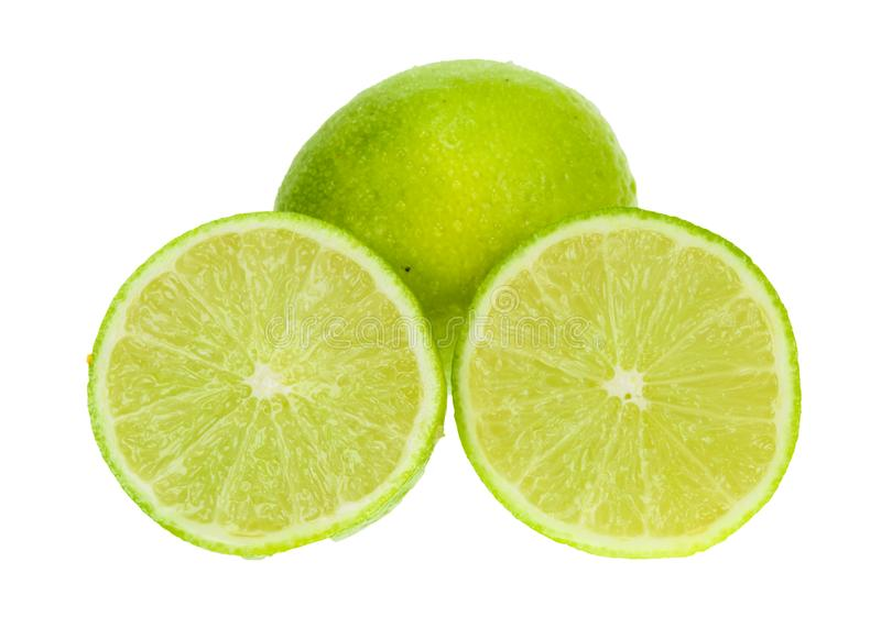 Fresh lime royalty free stock images