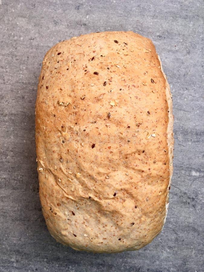 Fresh loaves of wheat bread stock photo