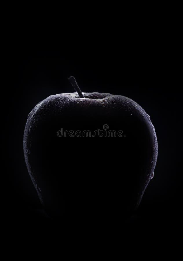 Free Fresh Low Key Apple Royalty Free Stock Image - 184339706