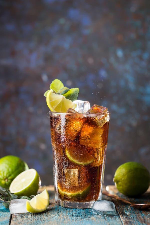 Fresh made Cuba Libre stock photo