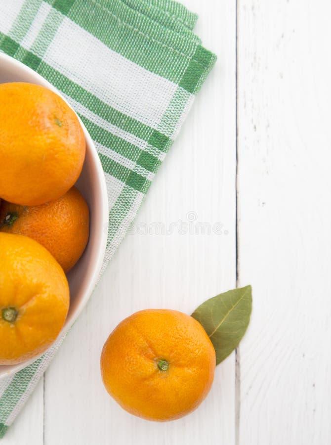 Fresh Mandarin Oranges stock image