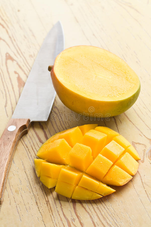 Fresh mango fruit stock photo