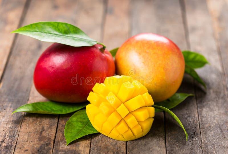 Fresh mango fruit stock photos