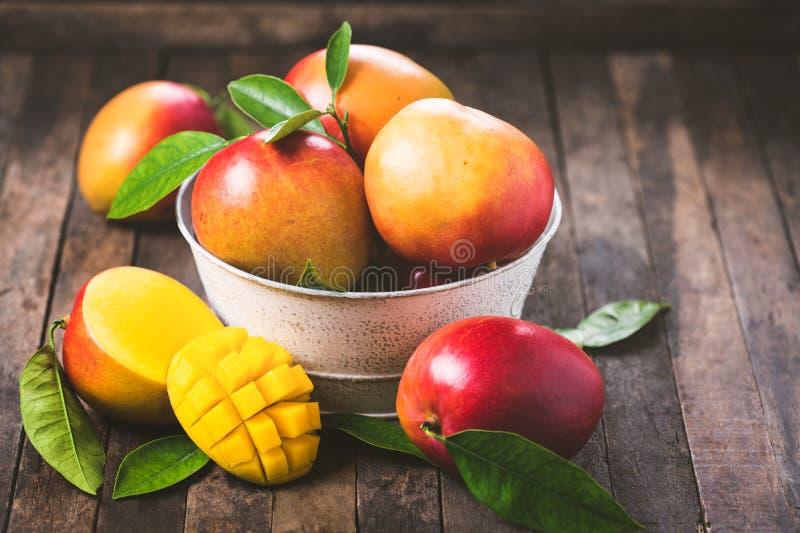 Fresh mango fruit stock photo