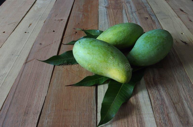 Fresh mangoes stock photo