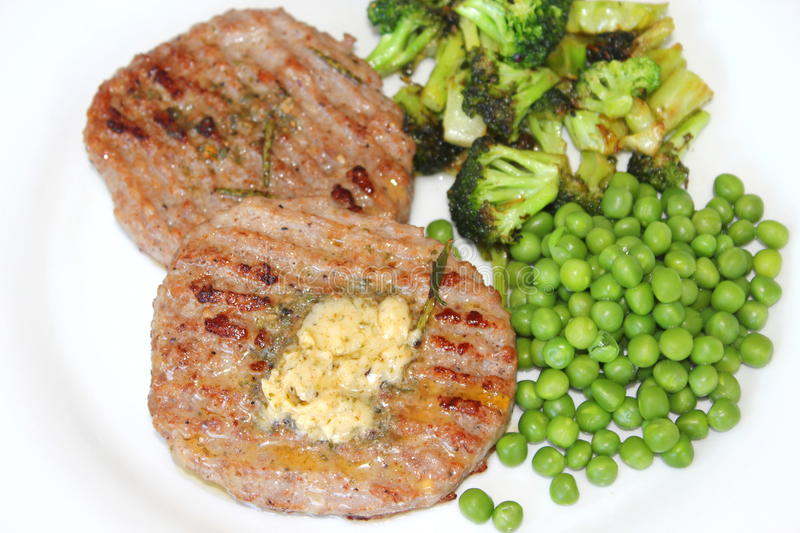 Download Fresh meat stock image. Image of lunch, butter, freshness - 32489779