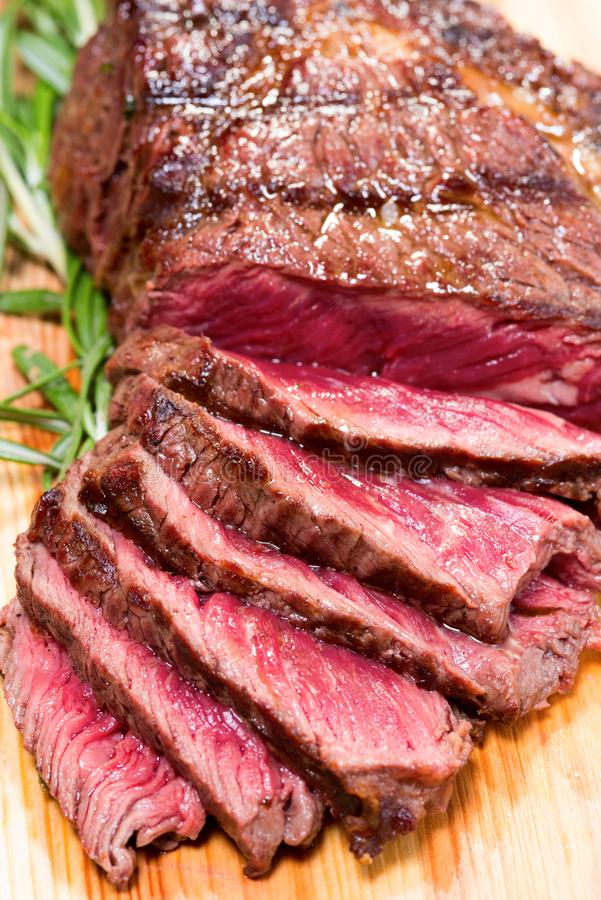 Fresh meat for steak royalty free stock images