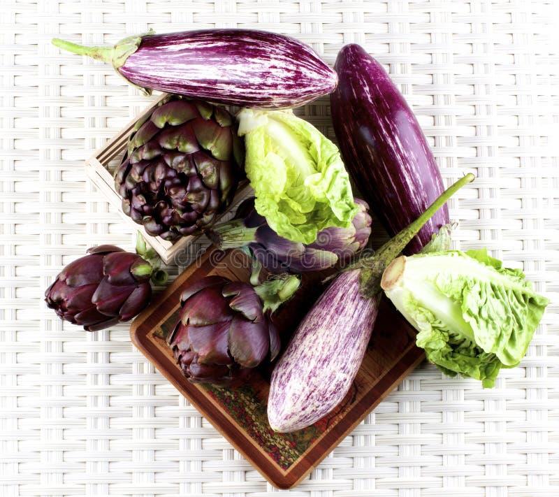 Fresh Mediterranean Vegetables royalty free stock photos