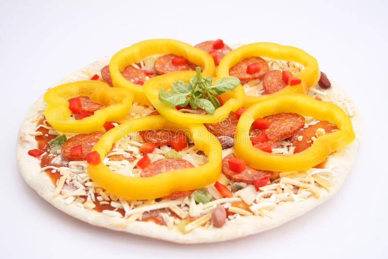 Download Fresh mexican pizza stock image. Image of food, fresh - 25128301